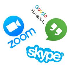 Video conf logos
